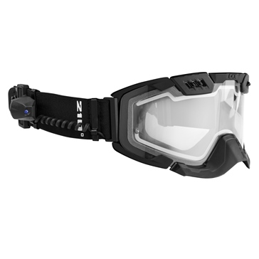 CKX Electric 210° Goggles with Controlled Ventilation, Winter Matte Black