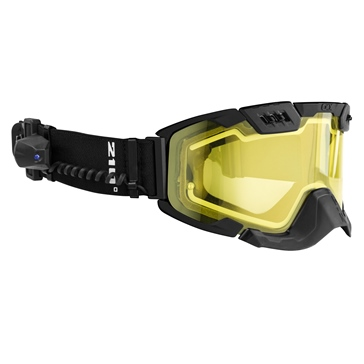 Matte Black CKX Electric 210° Tactical Goggles, Winter
