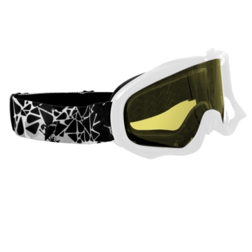 White CKX Falcon Goggles, Winter
