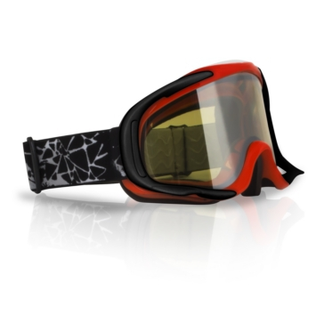 Red CKX Falcon Goggles, Winter