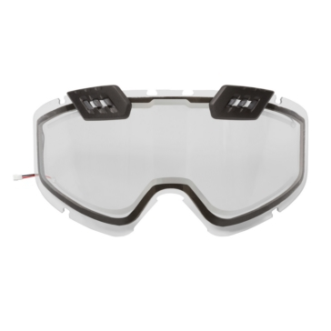 CKX Lentille de lunettes 210° contrôlée électrique, hiver