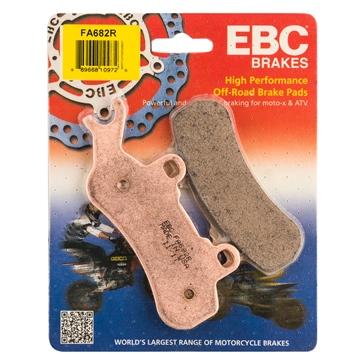 EBC  Plaquette de frein en métal solidifié longue durée de série « R » Métal fritté