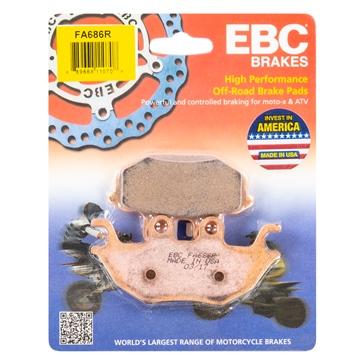 """EBC  """"R"""" Long Life Sintered Brake Pad Sintered metal"""