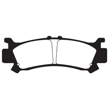 "EBC  Carbon Graphite ""X"" Brake Pad Organic - Front"