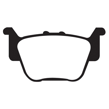 "EBC  ""X"" Carbon Graphite Brake Pad Carbon graphite - Rear"