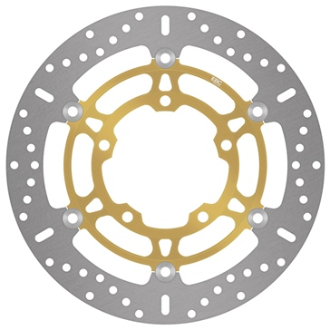 EBC  Standard Brake Rotor Fits Honda, Fits Suzuki, Fits Yamaha - Front left, Front right