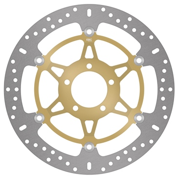 EBC  Standard Brake Rotor Fits Kawasaki, Fits Suzuki, Fits Yamaha - Front left, Front right