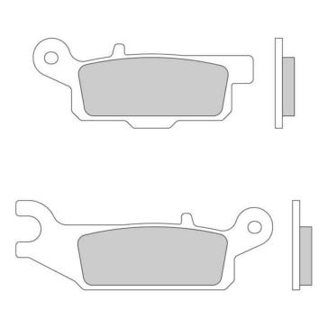 GALFER Sintered Metal HH Brake Pad Sintered metal - Front
