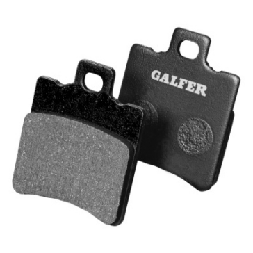 GALFER Semi Metallic Carbon Brake Pad Carbon, Semi Metallic - Front
