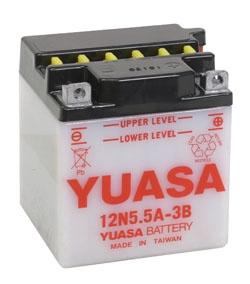 Yuasa Battery Conventional 12N5.5A-3B
