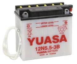 Yuasa Battery Conventional 12N5.5-3B