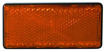 Réflecteur ambre rectangulaire KIMPEX