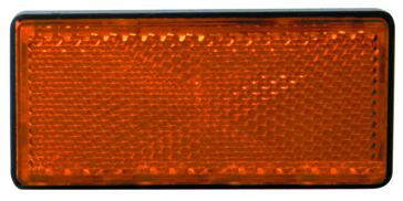 KIMPEX Rectangular Amber Reflector