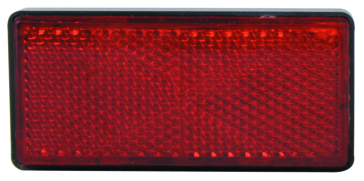 Kimpex Rectangular Red Reflector