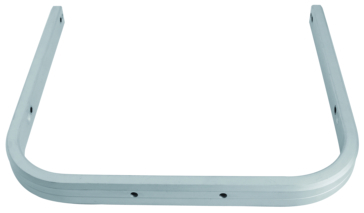 Kimpex HD Snowmobile Bumper Rear - Aluminium - Fits Ski-doo