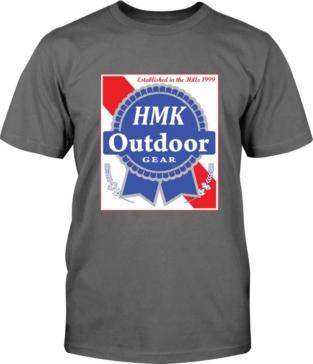 Unisex HMK T-Shirt, Blue Ribbon