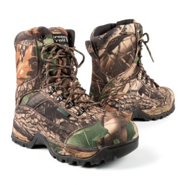 Green Trail Boots, Camo Hunting Men, Women - Hunting