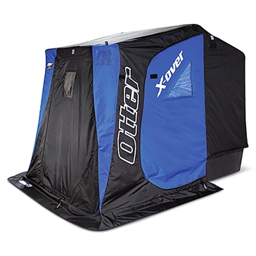 Otter Outdoors XT X-Over Shelter Fishing blind