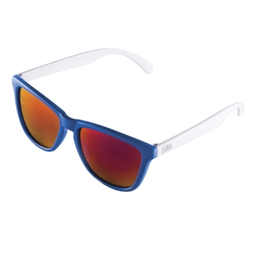 Blue, White HMK The Crow Sunglass