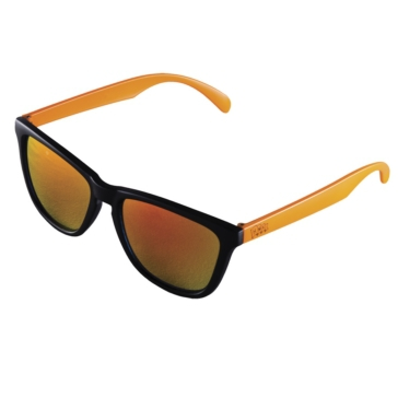 Lunette de soleil The Crow HMK Noir, Orange - Miroir jaune