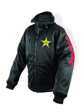 Men - Solid Color - Regular HMK Hooded Tech Shell Jacket