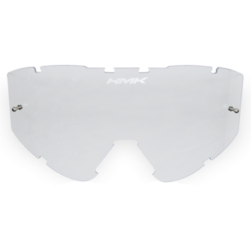 "HMK Carbon Goggle Lens with ""Tear-off"" Post Mount"