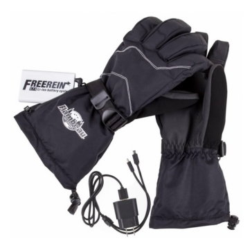 Flambeau Outdoors Ensemble de gants chauffants - Paume en cuir Adulte