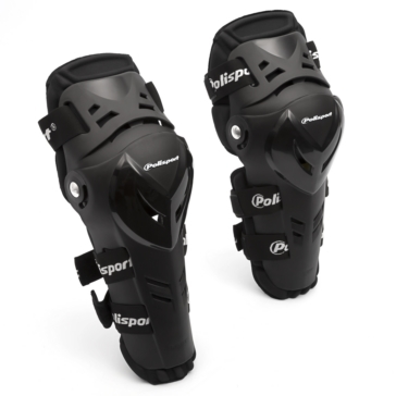 POLISPORT Knee/Shin Guard, Devil Men, Women