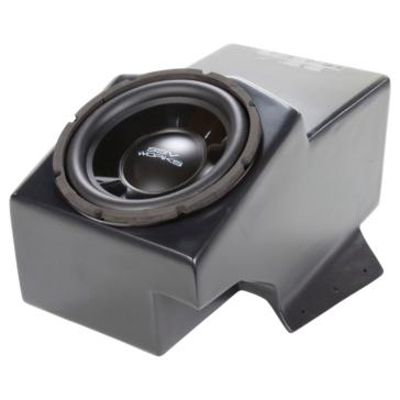 SSV WORKS Caisson d'extrême grave avec boîtier et amplificateur WP Polaris - Centre de la console