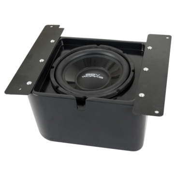 SSV WORKS Subwoofer with Box & Amplifier WP Polaris - Under seat