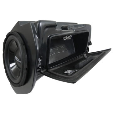 SSV WORKS Subwoofer with Box & Amplifier WP Polaris - Glove box