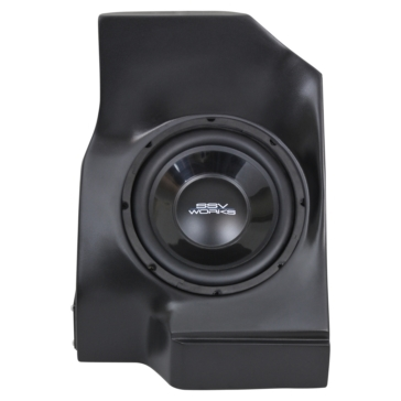 SSV WORKS Subwoofer with Box & Amplifier WP Arctic cat - Behind seat