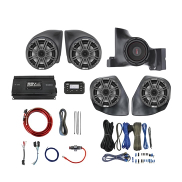 SSV WORKS Kicker Marine 5 Speaker Kit Can-am