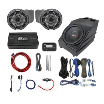 SSV WORKS Kicker Marine 3 Speaker Kit Kawasaki