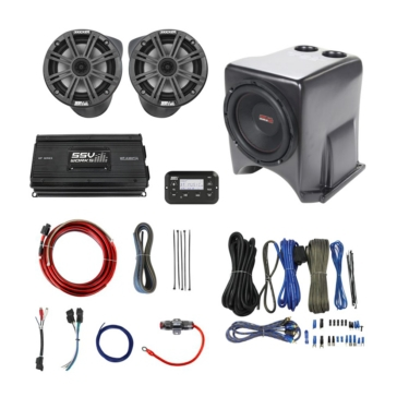 SSV WORKS Kicker Marine 3 Speaker Kit Yamaha