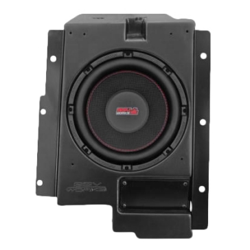 "SSV WORKS Box Subwoofer with Speaker 10"" Polaris - Behind drivers seat"
