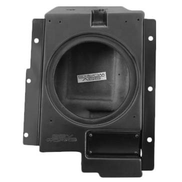 SSV WORKS Subwoofer Box Polaris - Behind drivers seat