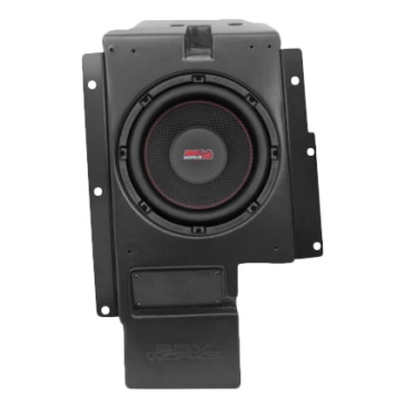 "SSV WORKS Box Subwoofer with Speaker 10"" Polaris - Behind passengers seat"