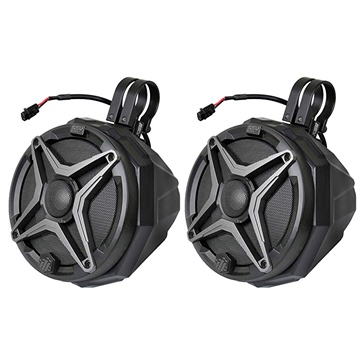 SSV WORKS Premium Marine Speaker with Cage Bracket Universal