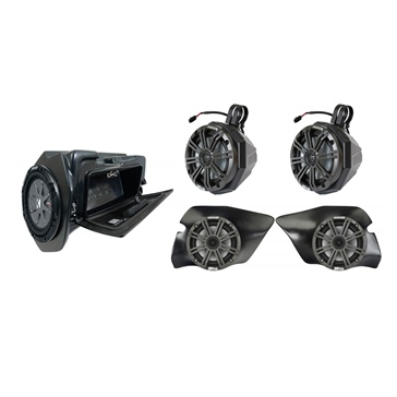 SSV WORKS Kicker Marine 5 Speaker Kit Polaris