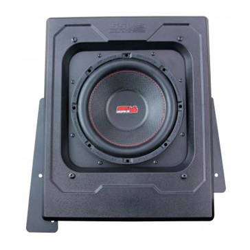 SSV WORKS Premium Marine Subwoofer with Box Polaris - Behind drivers seat