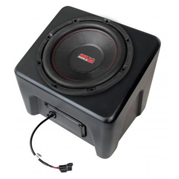 SSV WORKS Premium Marine Subwoofer with Box Fits Polaris - Under seat