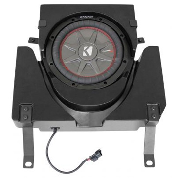 SSV WORKS Kicker Powersport Subwoofer with Box Fits Can-am - Under seat