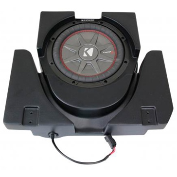 SSV WORKS Kicker Powersport Subwoofer with Box Can-am - Under seat