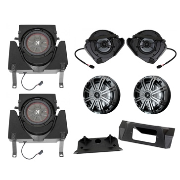 SSV WORKS Kicker Marine 6 Speaker Kit Fits Can-am