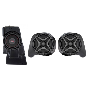 SSV WORKS Premium Marine 3 Speaker Kit Fits Yamaha