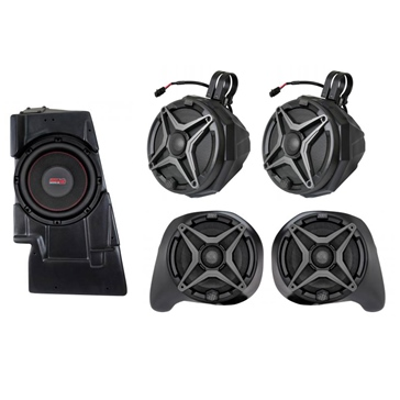 SSV WORKS Premium Marine 5 Speaker Kit Fits Yamaha