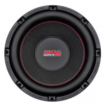 SSV WORKS Premium Marine Subwoofer with Box Universal