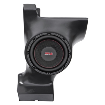 SSV WORKS Kicker Powersport Subwoofer with Box Fits Can-am - Under dash