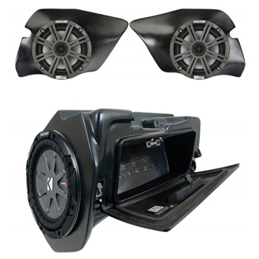 SSV WORKS 3 Kicker Speaker System with Plug-and-Play Polaris